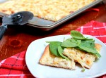 Three-Cheese Apple Chicken Pizza