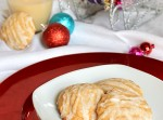 Eggnog Glazed Eggnog Cookies via Fabtastic Eats #cookies #eggnog