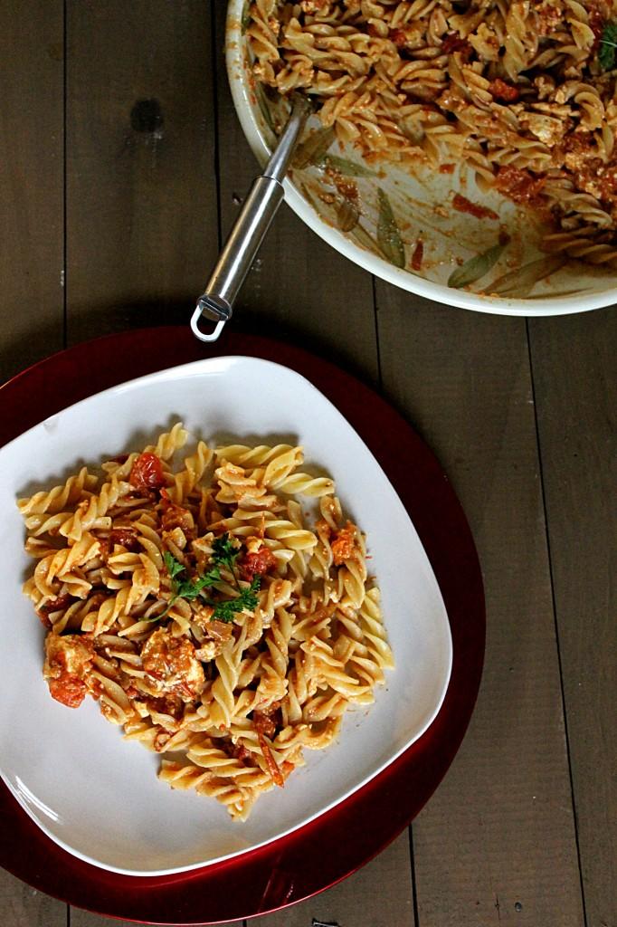 Feta-Tomato Pasta