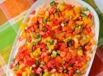 Veggie Taco Dip | Fabtastic Eats