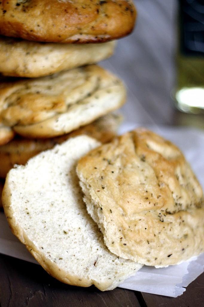 Focaccia Rolls | Fabtastic Eats