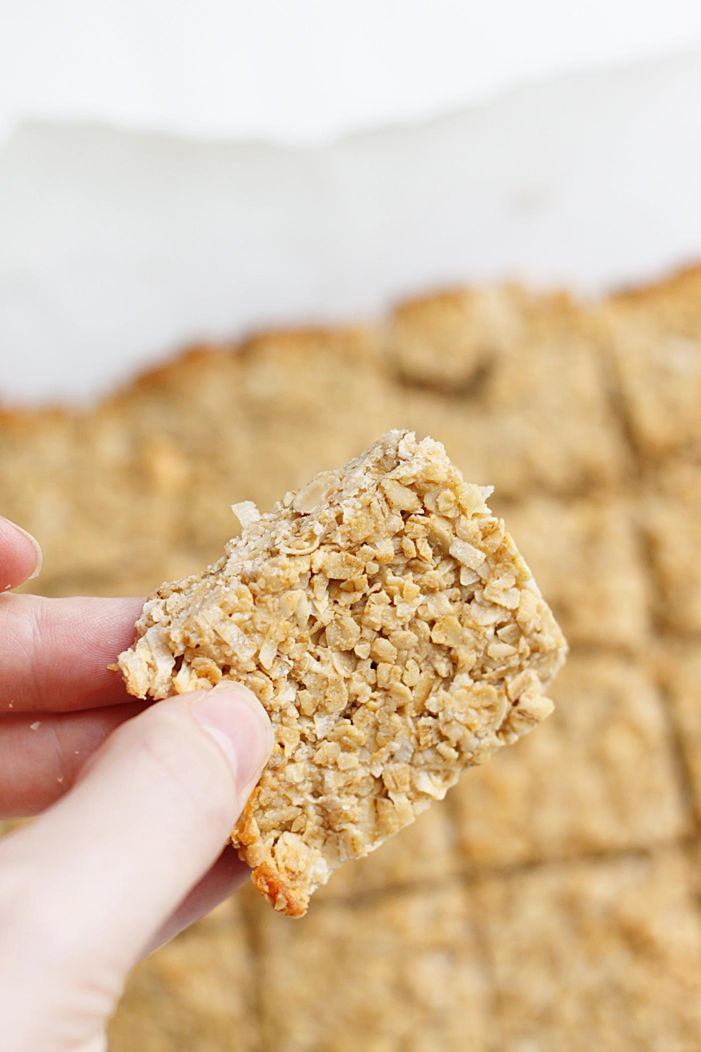 belle vie - Skinny Peanut Butter Coconut Granola Bites | Fabtastic ...