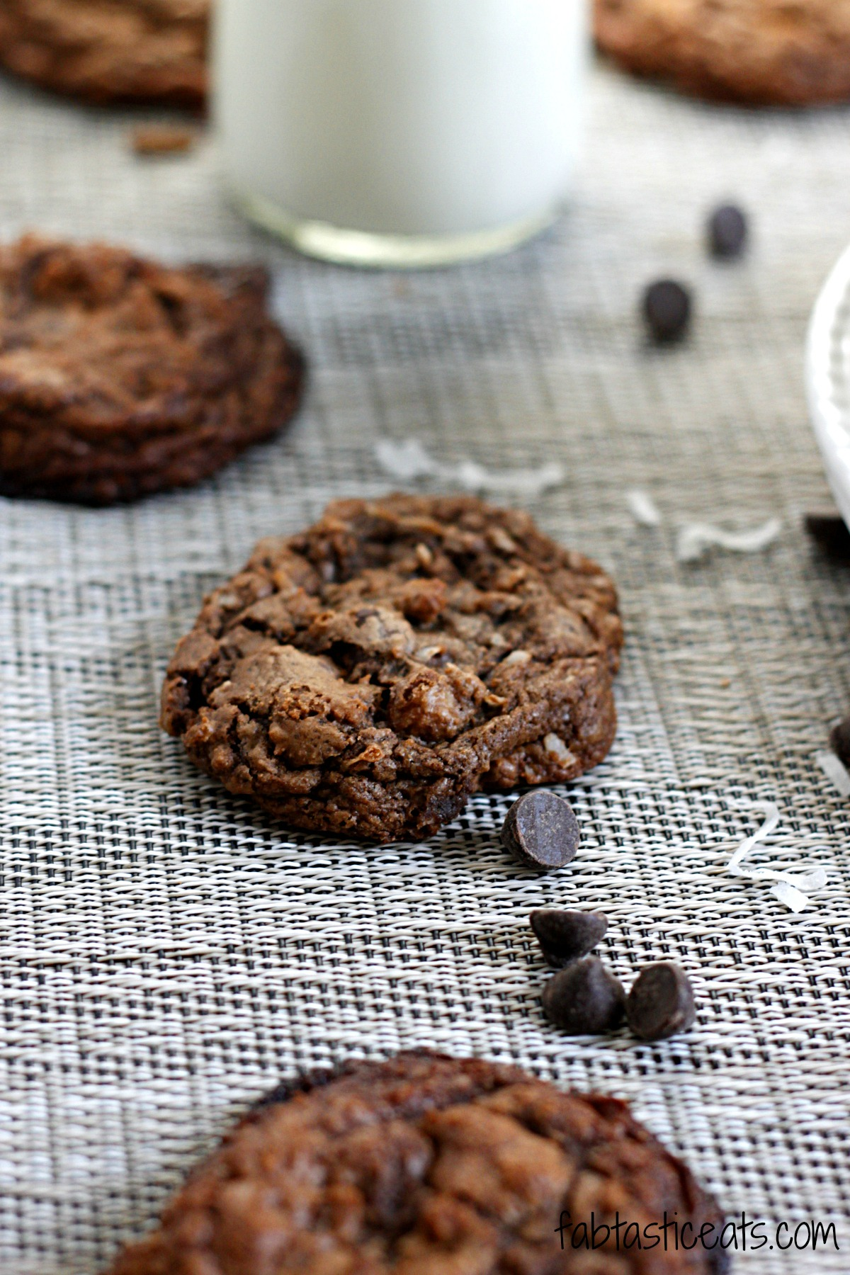 belle vie - Espresso Caramel Coconut Dark Chocolate Cookies - belle ...