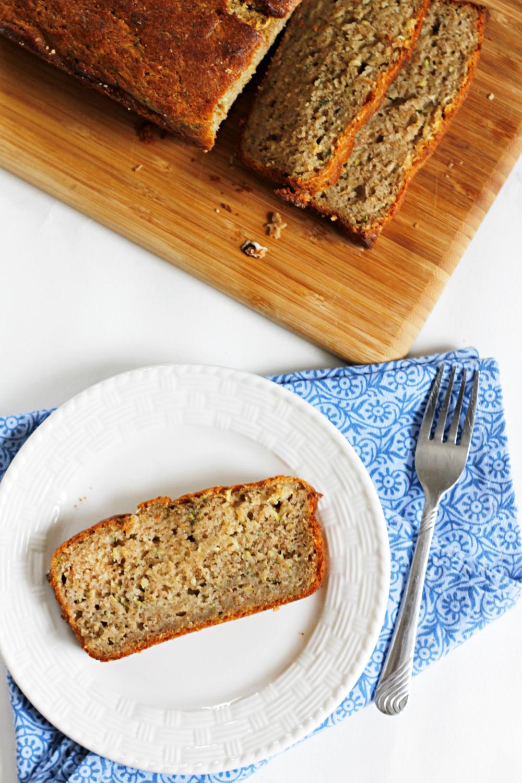 Lighter Zucchini Bread