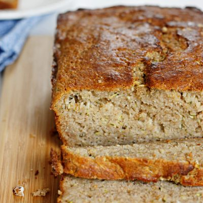 Lighter Zucchini Bread