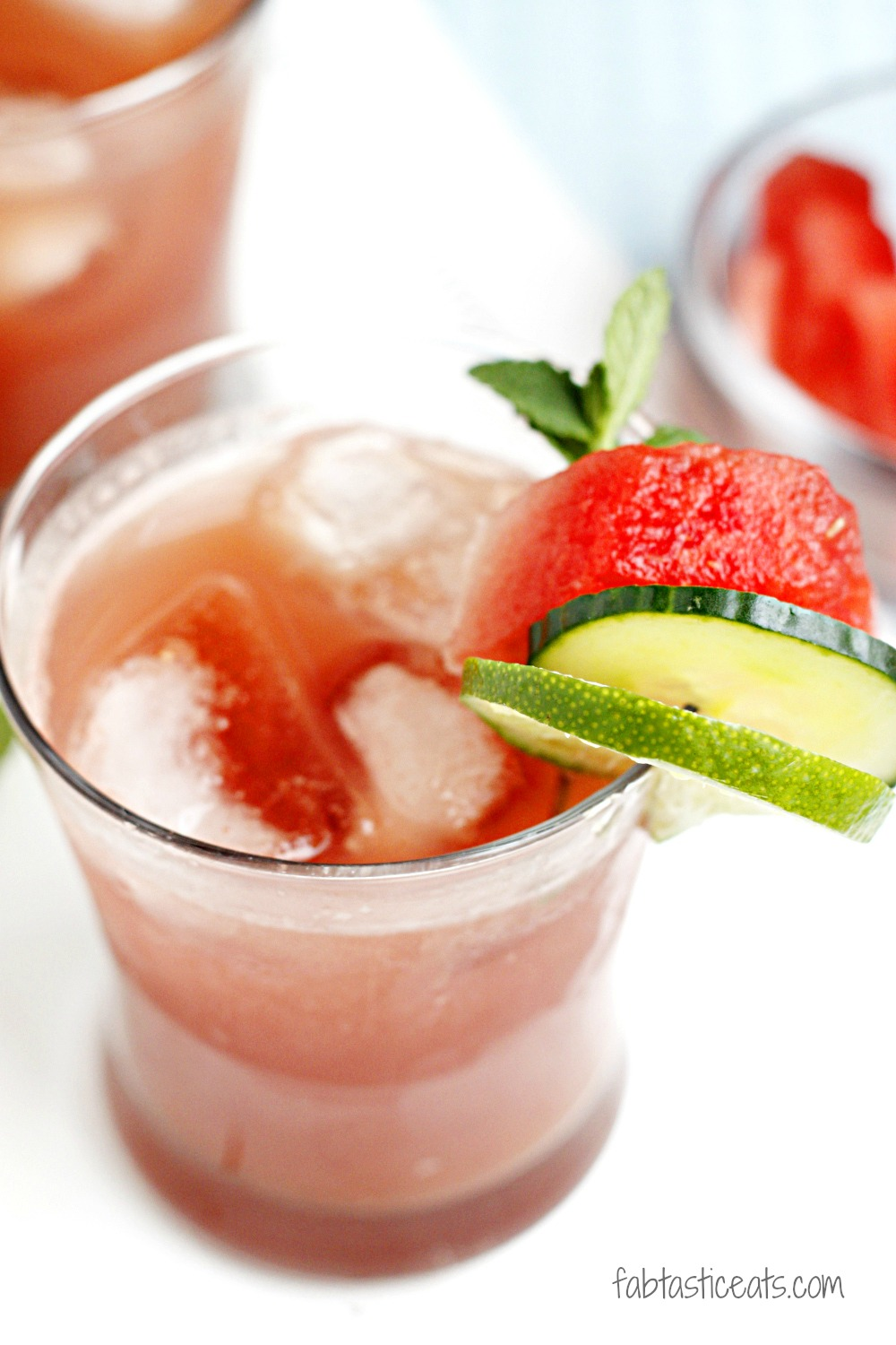belle vie - Watermelon Cucumber & Mint Cooler {For Happy ...