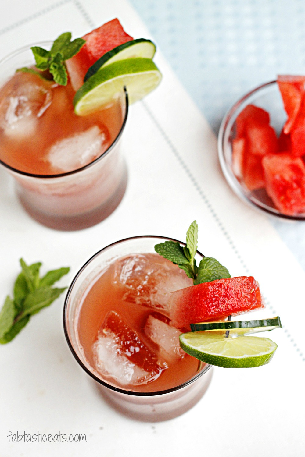 all having a fabulous week. Make this Watermelon Cucumber Mint Cooler ...