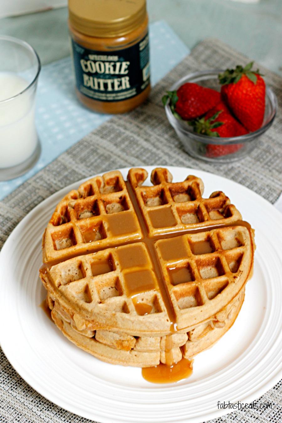 Cookie Butter Waffles