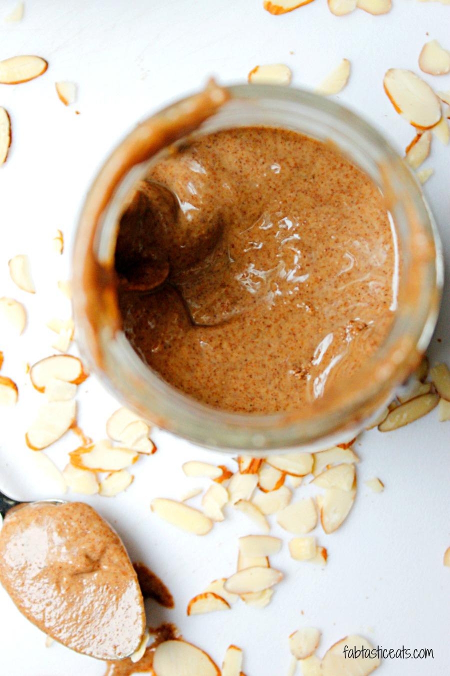 Cinnamon Almond Butter | Fabtastic Eats