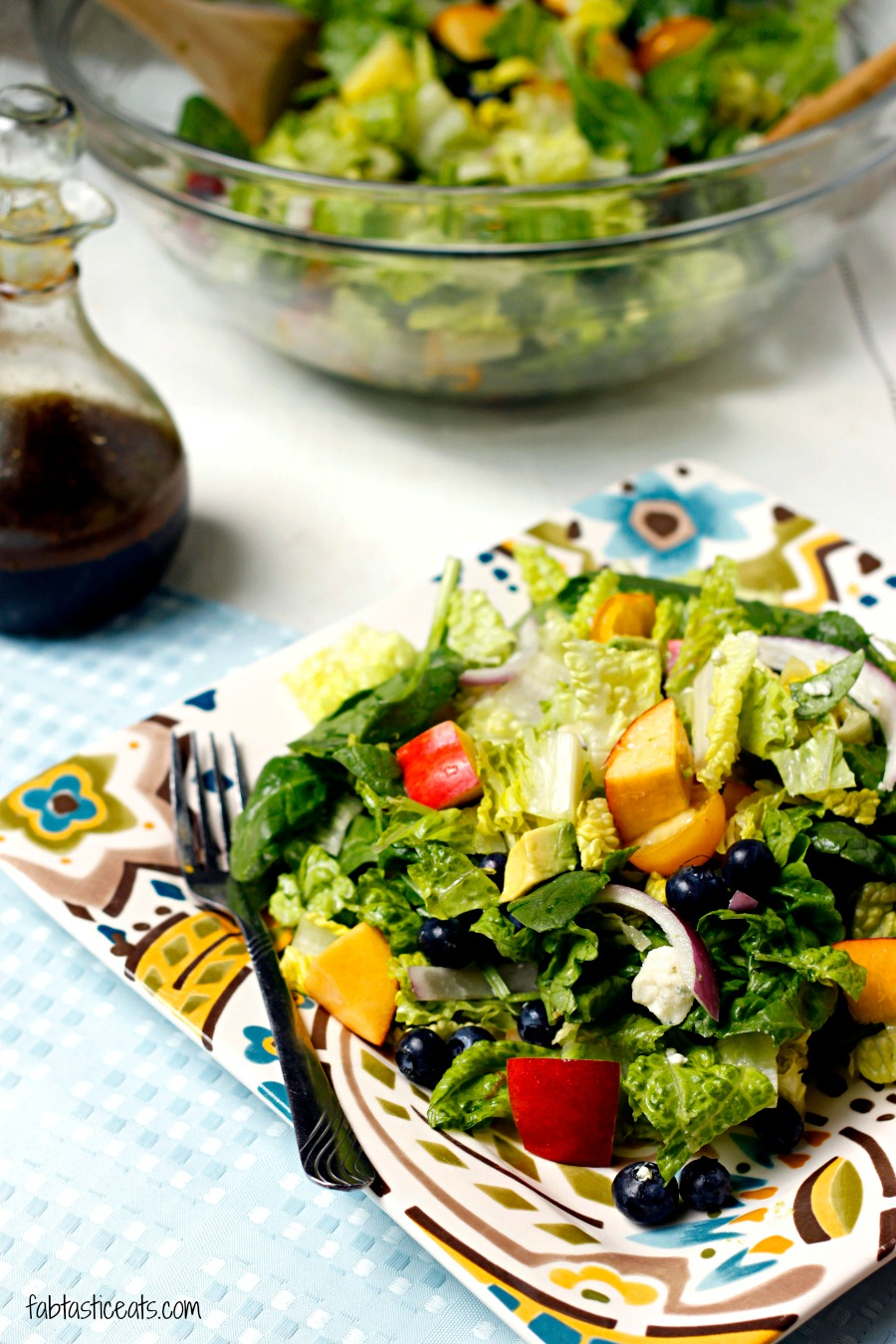 ... and Nectarine Salad with Avocado Citrus Vinaigrette | Fabtastic Eats