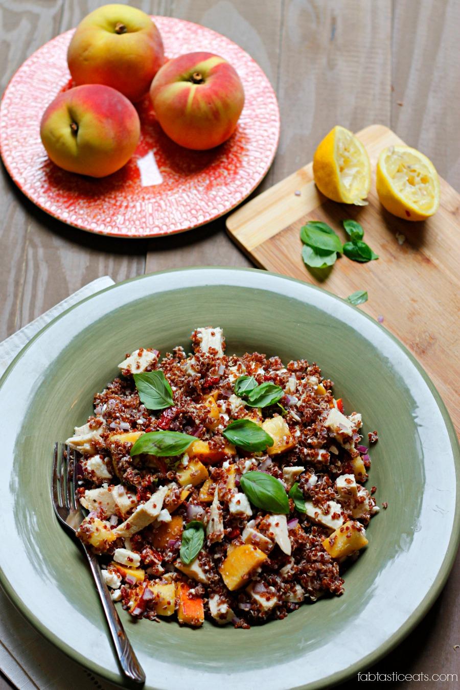 belle vie - Summer Quinoa Salad - belle vie