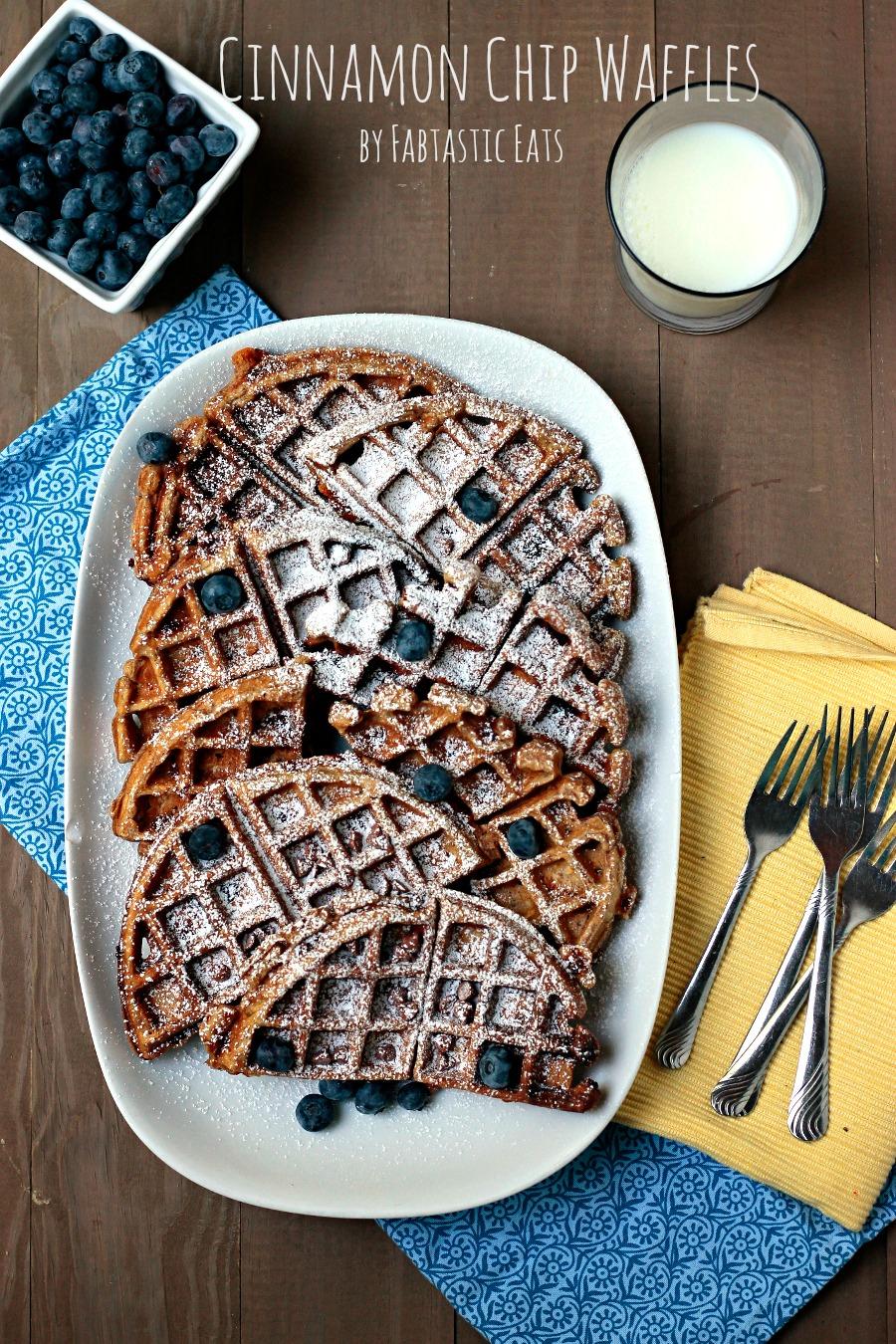 Cinnamon Chip Waffles
