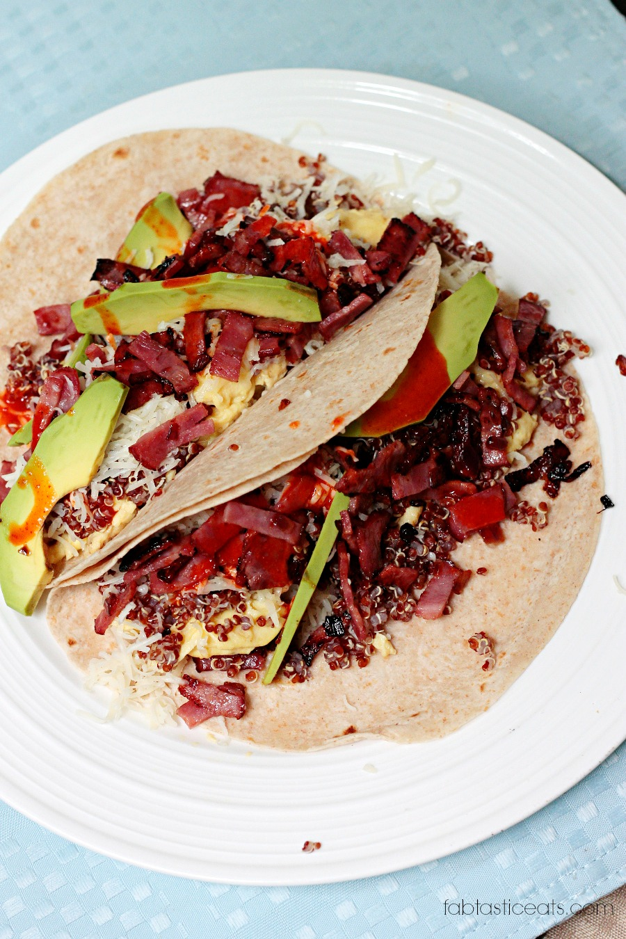 Quinoa and Avocado Breakfast Tacos