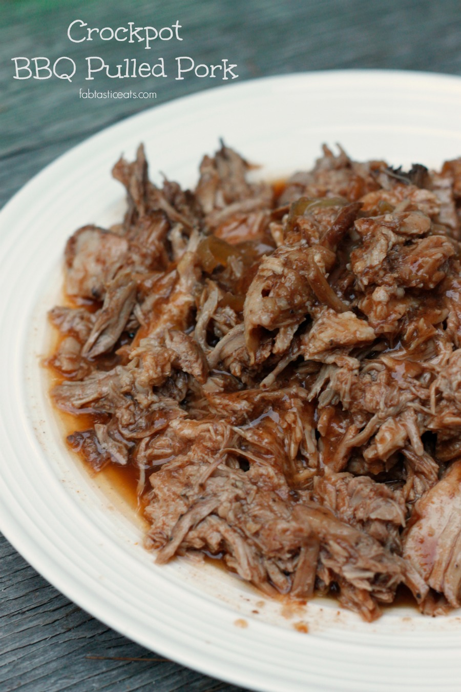 5 Minute Crock-Pot BBQ Pulled Pork