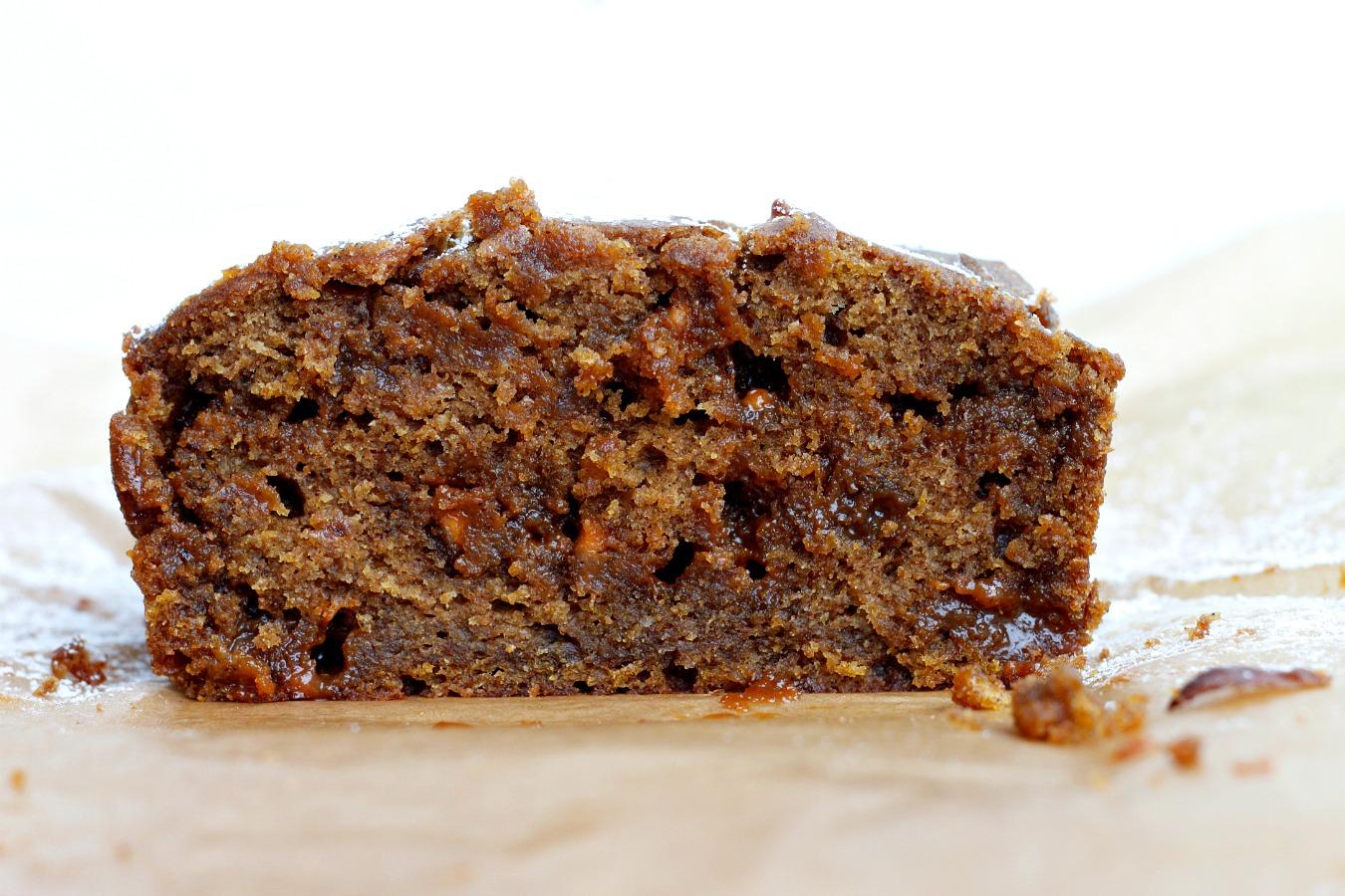Butterscotch Pumpkin Spiced Loaf Cake   Fabtastic Eats