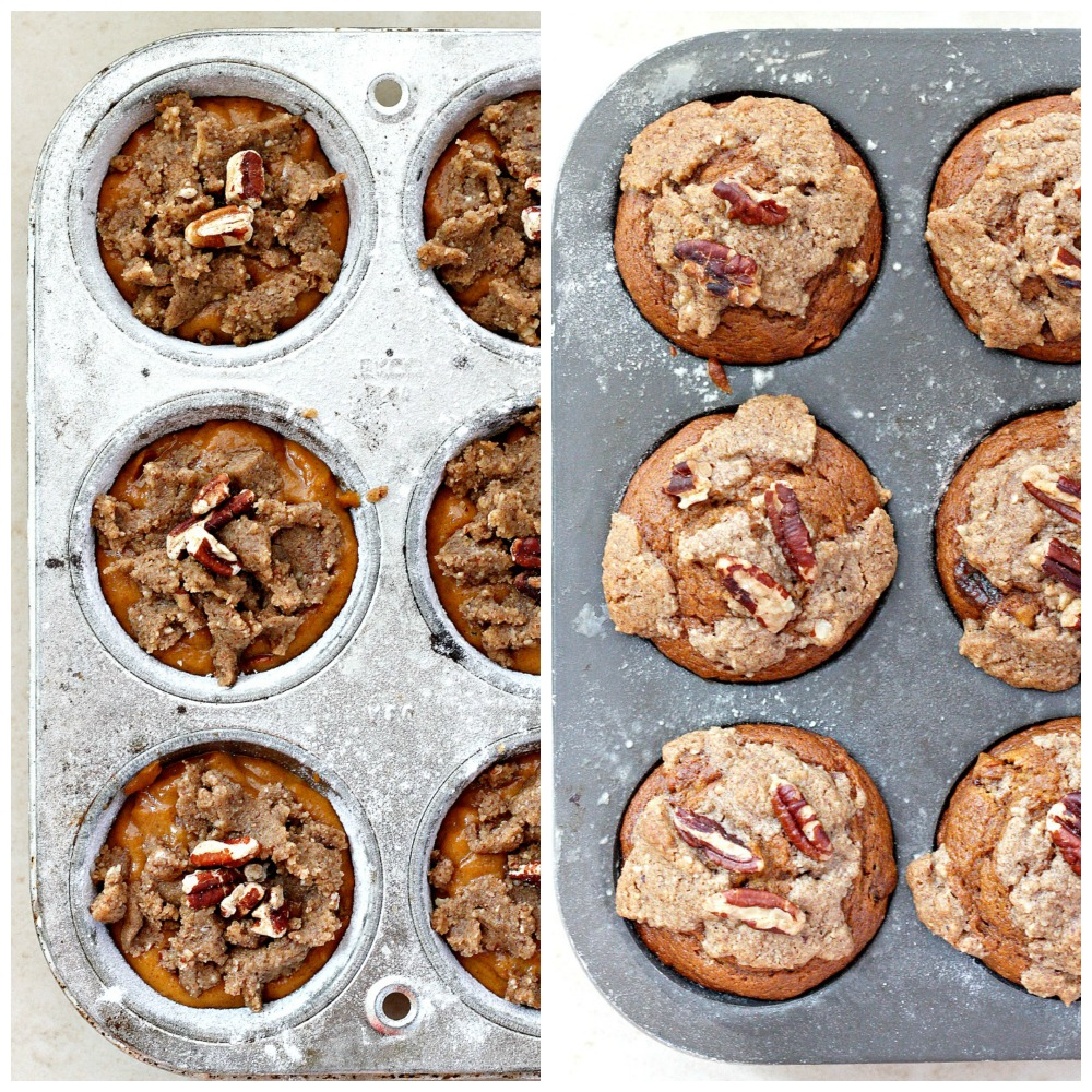 sugar pecan streusel orange spice pumpkin muffins with pecan streusel ...