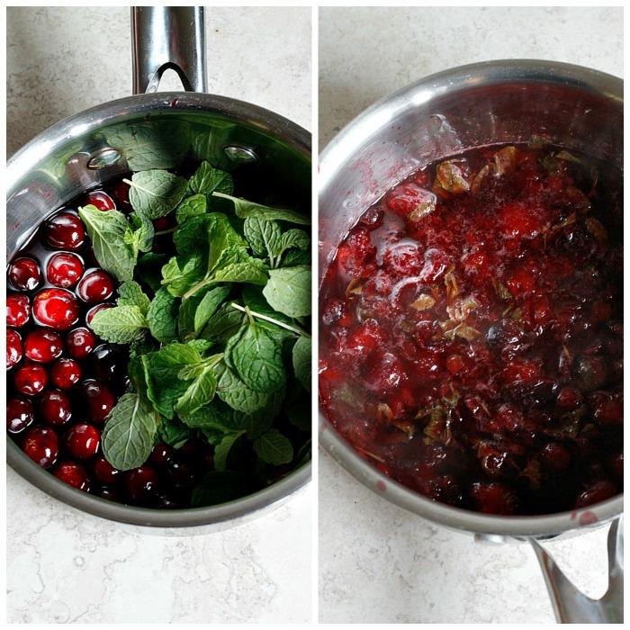 Pomegranate Cranberry Mint Julep   Fabtastic Eats