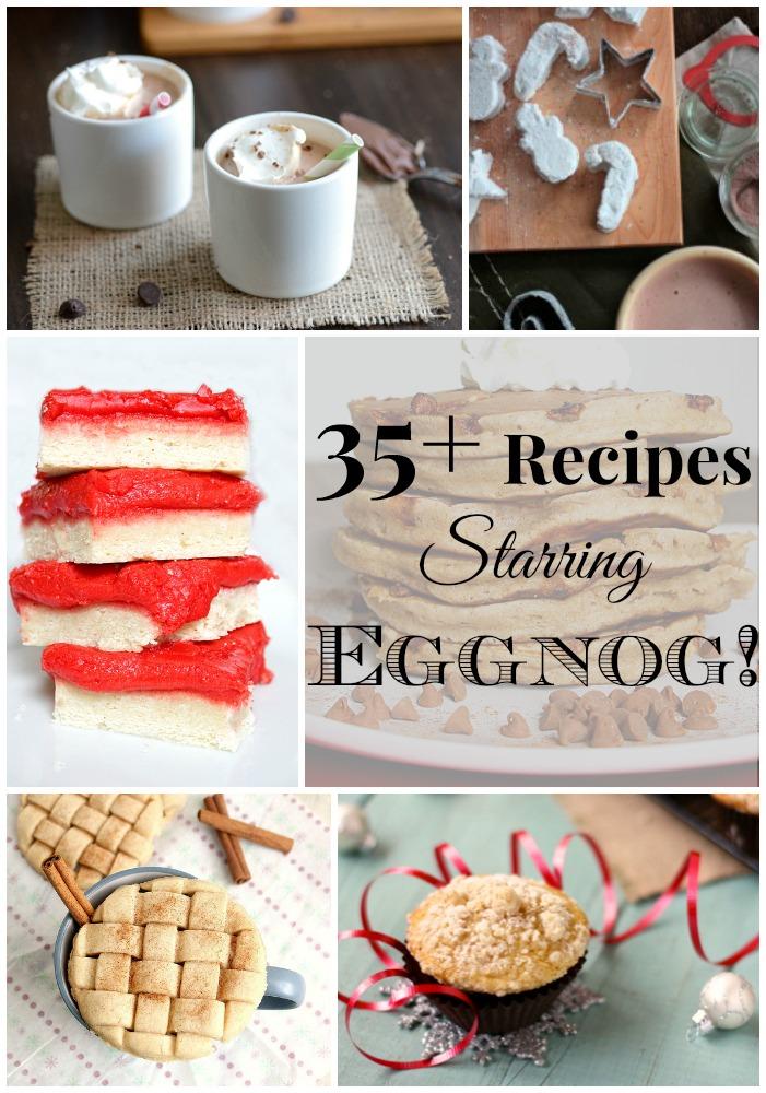 35+ Recipes Starring Eggnog! | Fabtastic Eats