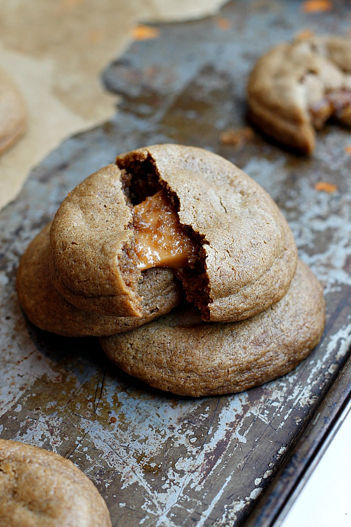 ... the caramels hardened caramel will harden at room temp these cookies