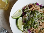 Pork Carnitas and Chimichurri Burrito Bowl | Fabtastic Eats