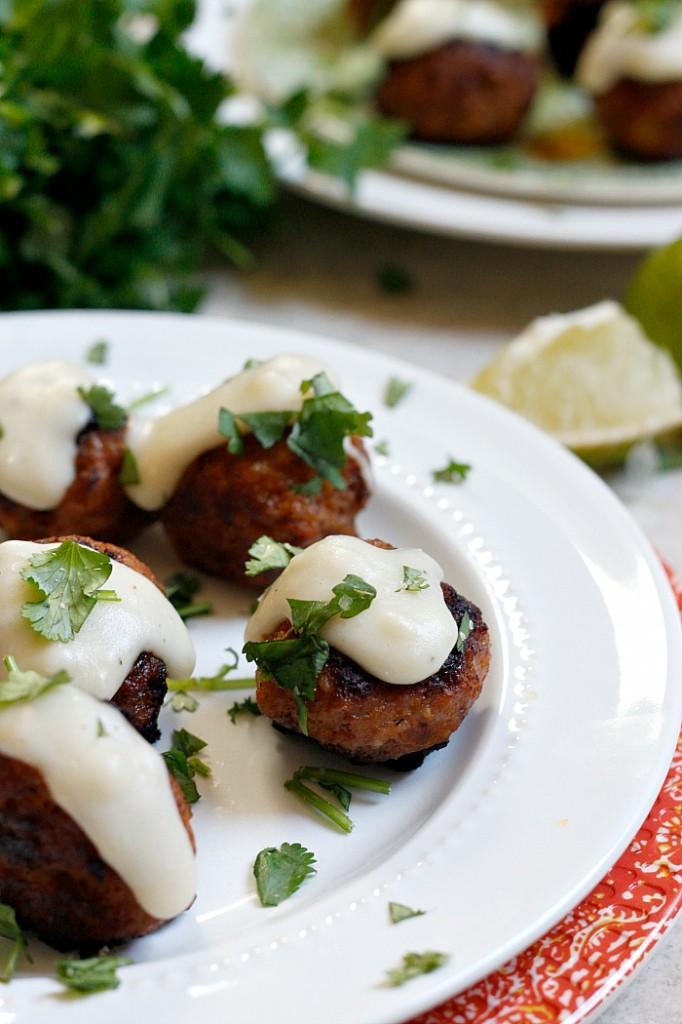 Tequila-Lime Chorizo Meatballs | Fabtastic Eats