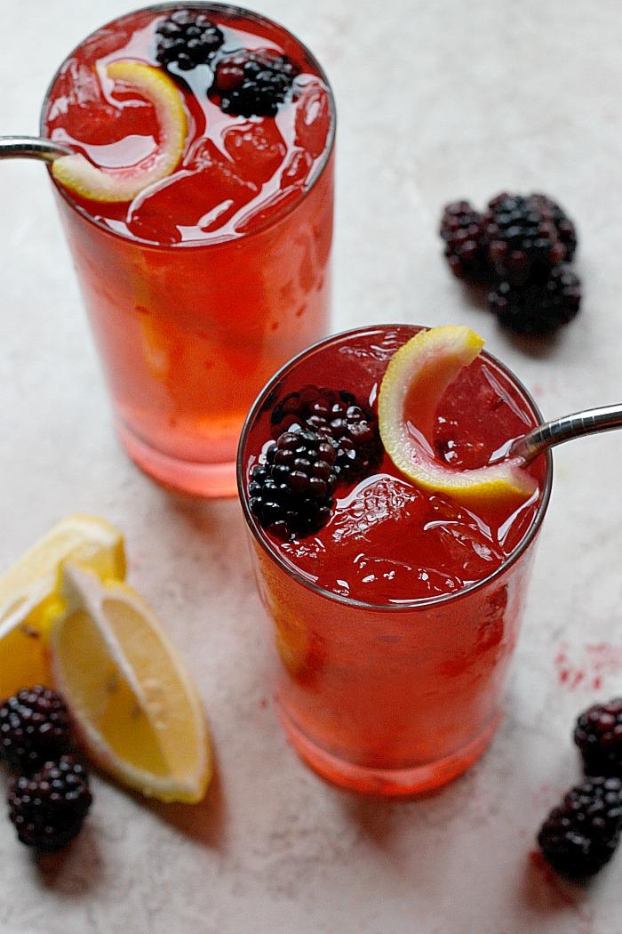 Blackberry Ginger Crush | Fabtastic Eats