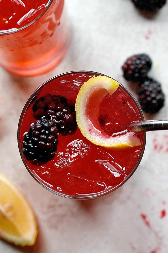 Blackberry Ginger Crush   Fabtastic Eats