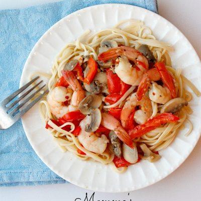 Mommas Shrimp Scampi