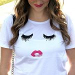 lips amp lashes for Galentines Day! this tshirt is sohellip