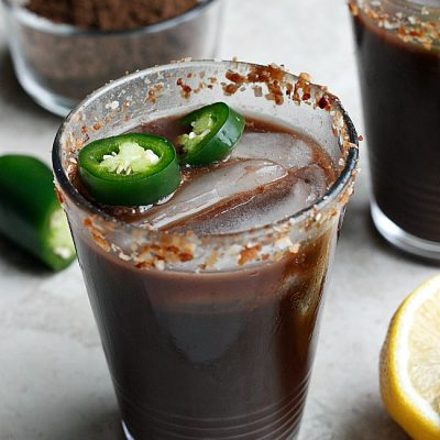 Jalapeno Chocolate Margaritas