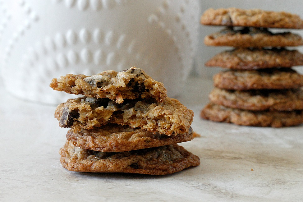 Oatmeal Coconut Chocolate Chip Cookies | Fabtastic Eats