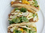 Thai Pork Tacos with Mango Radish Slaw | Fabtastic Eats