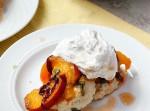 Peach and Basil Shortcakes with Vanilla Bean Whipped Cream | Fabtastic Eats