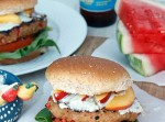 Hot and Sweet Turkey Burger with Whipped Blue Cheese | Fabtastic Eats