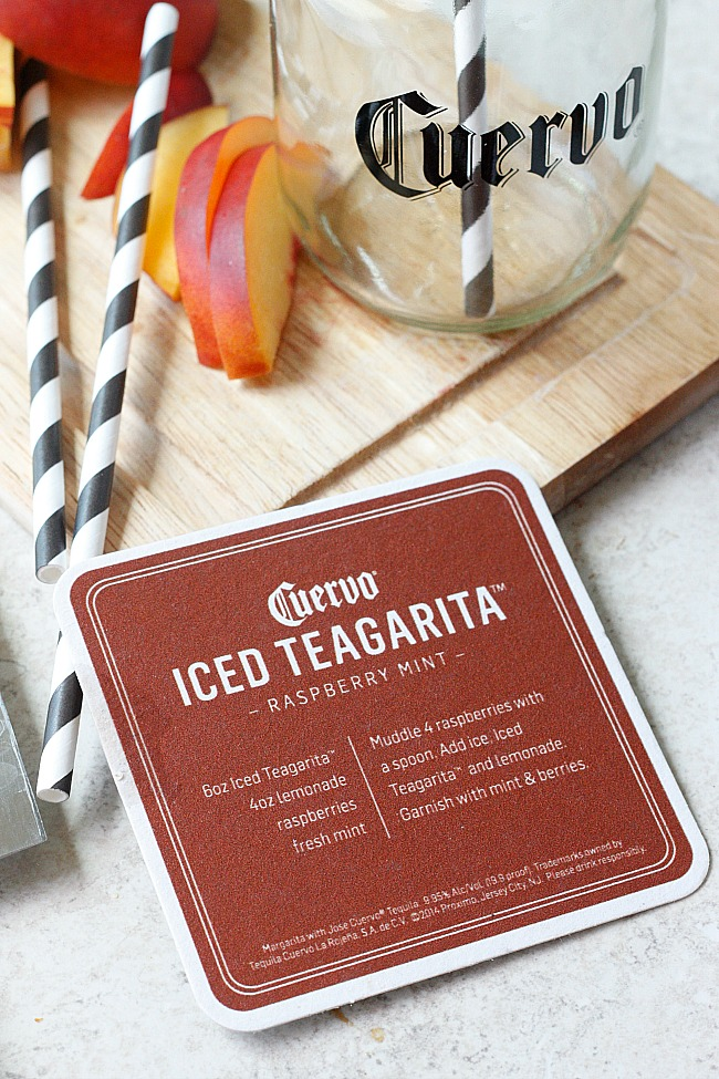 Peach Teagrita | Fabtastic Eats