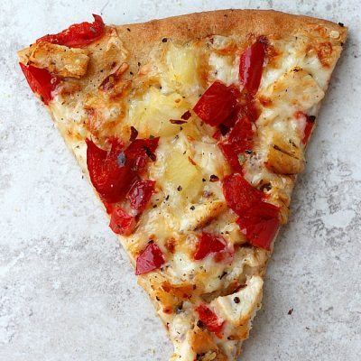 Smoked Sweet and Spicy Pizza