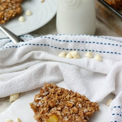 Tropical Oatmeal Breakfast Bake