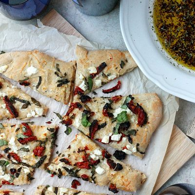 Sun-dried Tomato and Feta Focaccia