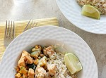 Chicken, Zucchini, & Corn Saute {30 Minute Meal!} | Fabtastic Eats