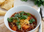 Sweet Potato, Black Bean, and Ground Sirloin Chili | Fabtastic Eats