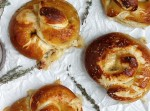 Three Cheese Pancetta Stuffed Pretzels | Fabtastic Eats