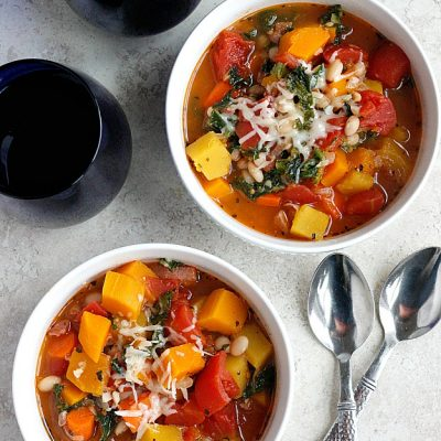 Pancetta and Winter Vegetable Soup