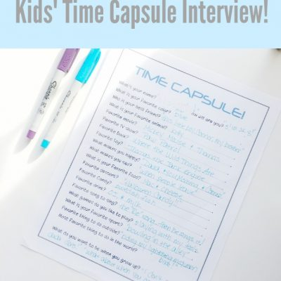 Kids Time Capsule Interview!