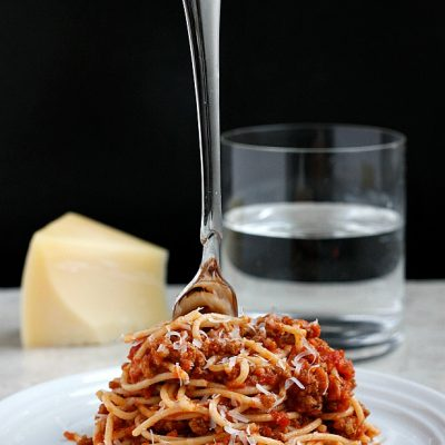 (our favorite!) Turkey Bolognese