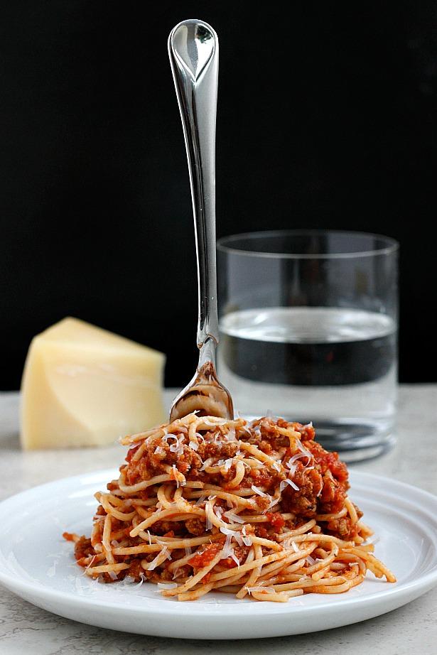 Turkey Bolognese| Fabtastic Eats