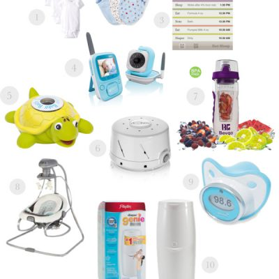 10 Products to Make a New Mom's Life Easier