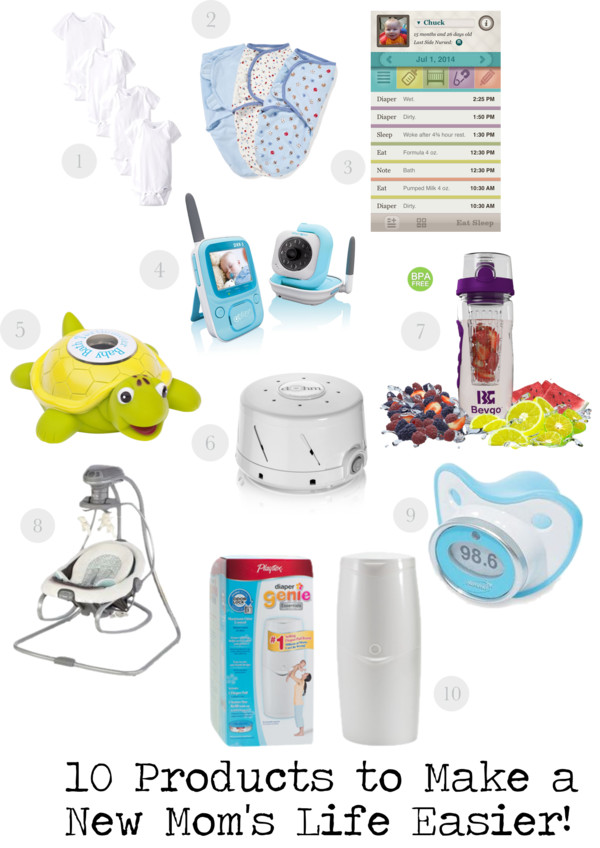 10 Products to Make a New Mom's Life Easier - Belle Vie
