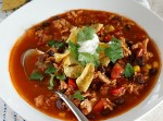 Chicken Tortilla Soup | Fabtastic Eats