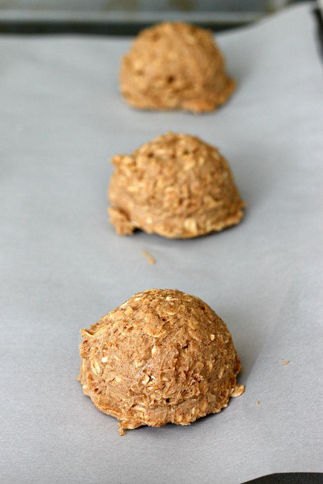 Pumpkin Spice Oatmeal Cookies | Fabtastic Eats