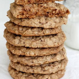 Pumpkin Spice Oatmeal Cookies   Fabtastic Eats